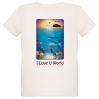 I Love U World T-Shirt